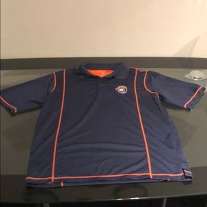 Large Astros dress polo